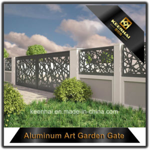 レーザーによって切られる装飾的なアルミニウム庭のドア
