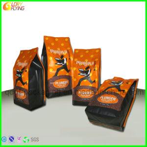Sac de nourriture Platsic Four-Side étanche pour l'emballage du café avec soupape de dégazage du unidirectionnel
