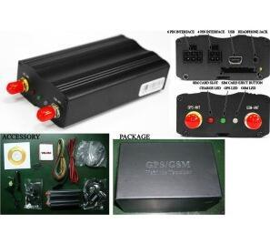 Echtzeit3g Car GPS Tracker Tlt-7b Cut Oil/Power Locator Support 3G WCDMA und 2g G/M Similar zu GPS103