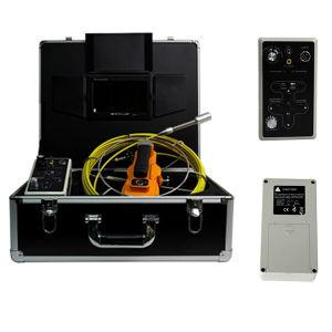 12pzas LEDs blancos de la cámara de detección de agua subterránea con el medidor marca