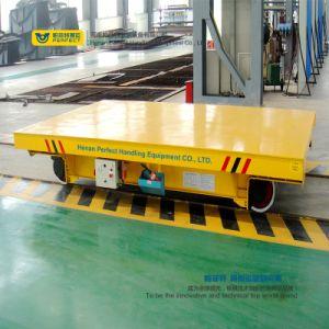 ガレージの使用の電気柵の平らなトロリー車の処理装置