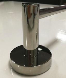 De Messing chroom-Geplateerde Staaf van uitstekende kwaliteit van de Handdoek van de Badkamers Enige (ZF5040J)