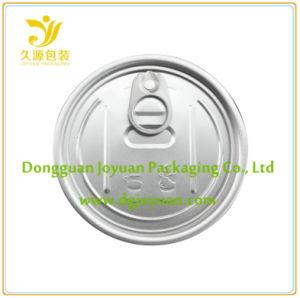 Aluminium Easy Open Zinnabdeckung Eoe 307 # Dia. 83.3mm