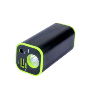 携帯用携帯電話の充電器LEDのトーチ12000mAh力バンク