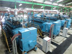 발전소를 위한 4MW 검정 시작 디젤 엔진 발전기