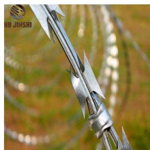 Bto-22熱い浸された電流を通された軍のアコーディオン式かみそりの鉄条網
