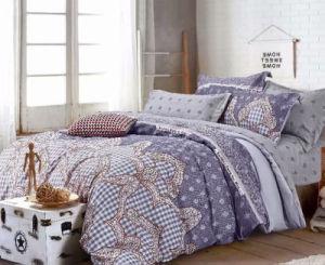 安い価格のインドのヨーロッパの熱い販売130GSMによって印刷されるMicrofiberポリエステル寝具