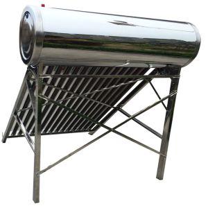 避難させた管のステンレス鋼の太陽給湯装置