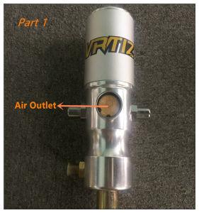 50: 1 Herramienta de mano de la bomba de alta presión bomba de engrase neumáticos
