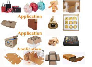 Máquina de papelão máquina de corte de cartas de jogar os produtos de papel Sistema CNC marcação ISO