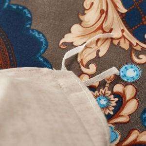 Bohemia Style Design padrões exóticos impressos capas de edredão reversíveis 3 Conjunto de peça com 2 travesseiro hipocrisia traduzem