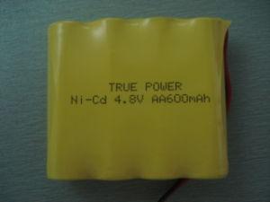 LED 빛을%s Ni CD 건전지 팩 AA500mAh 3.6V