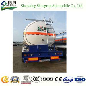 半原油の石油の貯蔵タンクのトラックの燃料のタンカーのトレーラー