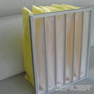 Карманная Lefilter мешок фильтра для средних HVAC эффективность фильтра
