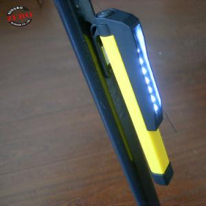 Imán barato 8 LED de luz de trabajo con el lápiz Clip