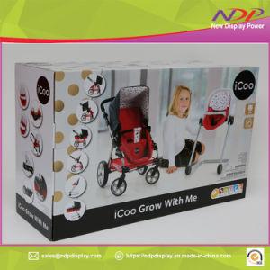 Cochecito de bebé personalizada caja de embalaje plegable Mecanizado de Paquete de impresión