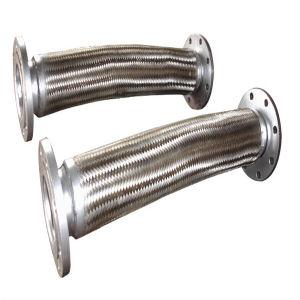 4インチ304/316のステンレス鋼の編みこみの波形の金属ホース