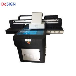 Stampante a base piatta UV della stampante di piccolo formato A2 per la stampatrice del biglietto da visita del coperchio e della plastica del telefono