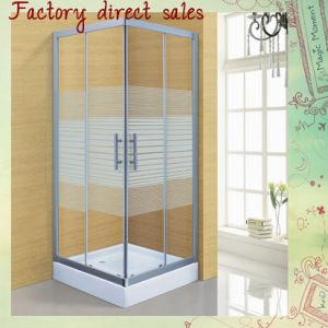 Cabine van de Douche van de Waren van de Badkamers van de Deur van de douche de Sanitaire (a-238)