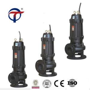 5.5kw pompa di elevatore non bloccante del fango della pompa per acque luride di Wq di 6 pollici