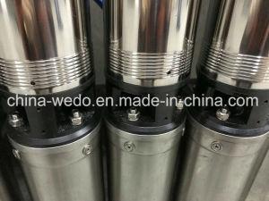 100qjd2/8-0.55 sumergibles de pozo profundo bomba de agua