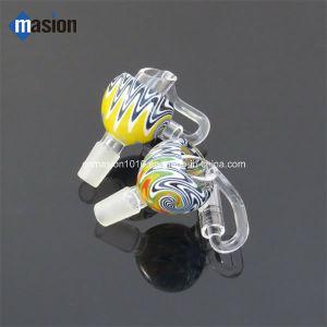 Diseño especial de tubo de vidrio multicolor recipiente de cristal (CGB3).