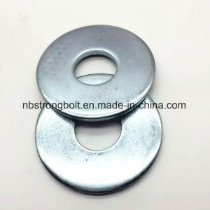 La norme DIN9021 Larg Taille de la rondelle plate avec plaqué zinc Cr 3+