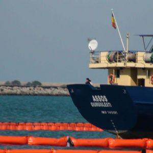 Порт используется масло из ПВХ стрелы