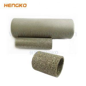 0,5~ 300 microns nickel titane poreux en bronze fritté Ss filtre en métal des tubes en acier inoxydable