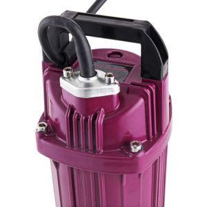 1HP Utilisation de l'eau et de la pompe à eau submersibles d'alimentation électrique
