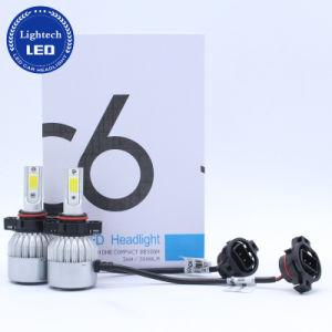 自動車部品12V 24Vの熱い自動車照明5202 H16 LEDヘッドライトキット36W車LED C6