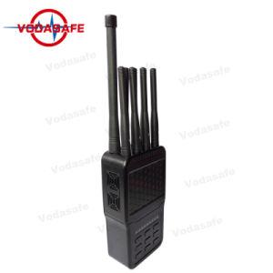 Het volledige Blokkeren van de Hoge Macht Hanheld van de Stoorzender van de Zak van de Band Nieuwste Draagbare voor wi-FI 2.4G/5.8g/Gpsl1/L2-L5/RC433MHz/315MHz/868MHz