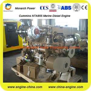 Cummins Nt855GMの海洋の補助エンジン
