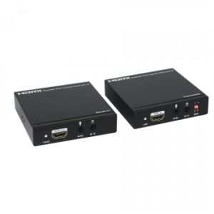 100m/328FT Over Single Coaxial Cable HDMI Extender (Bi方向IR+EDID)