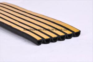 Striscia di gomma di sigillamento di Siliocne/PVC per i portelli di legno