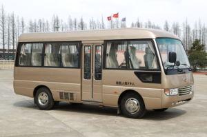 6m Toyota 작풍 Rosa Yuchai 엔진을%s 가진 여행자 소형 버스 연안 무역선 차량