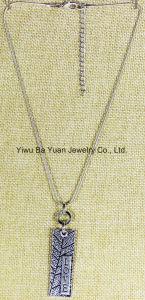De manier Gepersonaliseerde Tegenhanger van de Halsband van de Ketting van de Bal van de Liefde