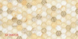 300*600mm 3D Inkjet Glazed Interior Wall Tile met Six Sides Design (GF36682)
