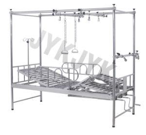 Cama de hospital -Atendimento manual ortopédica cama (de casal Tratction)