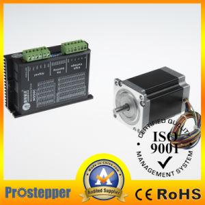 Tipo motore del connettore del NEMA 17 di alta precisione di punto passo passo di CNC di CC