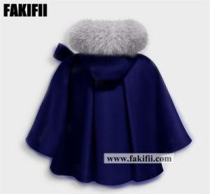 冬の卸し売り子供の服装の子供の摩耗の幼児は女の子のウールのジャケットの赤ん坊のコートに着せる