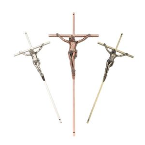 Coffin Crucifixo 8010 Die Casting Cristo
