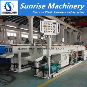 Tubo de PVC doble fiable de la línea de producción de máquina para fabricar tuberías