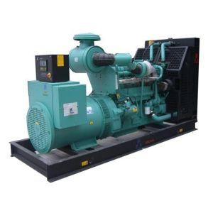 La Construcción Popular Silent generador diesel de 400 kVA.