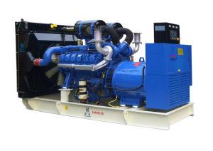 Doosan gerador diesel espera silenciosa 550 Kw