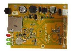 Baugruppe 1CH HD1080p CCTV-DVR Vorstand bewegliches DVR der Ableiter-Karten-DVR