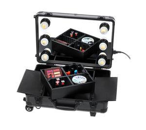 Mini Studio Portable cas maquillage chariot roulant
