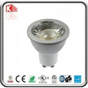 Weißer Scheinwerfer des Gehäuse-120V 7W GU10 LED