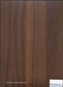 De houten Film/de Folie van pvc van de Korrel Decoratieve voor Pers Bgl179-184 van het Membraan van het Kabinet/van de Deur de Vacuüm
