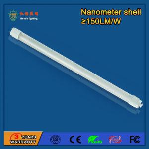 Tubo chiaro T8 di nanometro SMD 2835 9W LED per il negozio